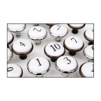 Knobs - Ceramic Numbers
