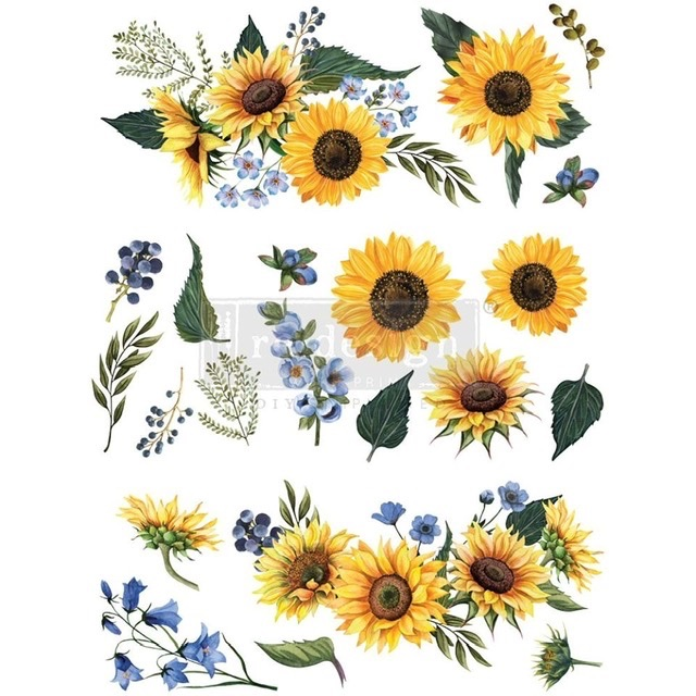 Decor Transfer - Sunflower Fields