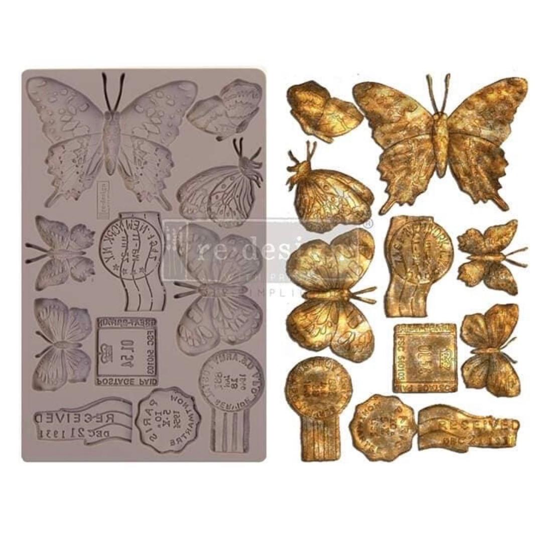 Decor Mould - Butterfly in Flight
