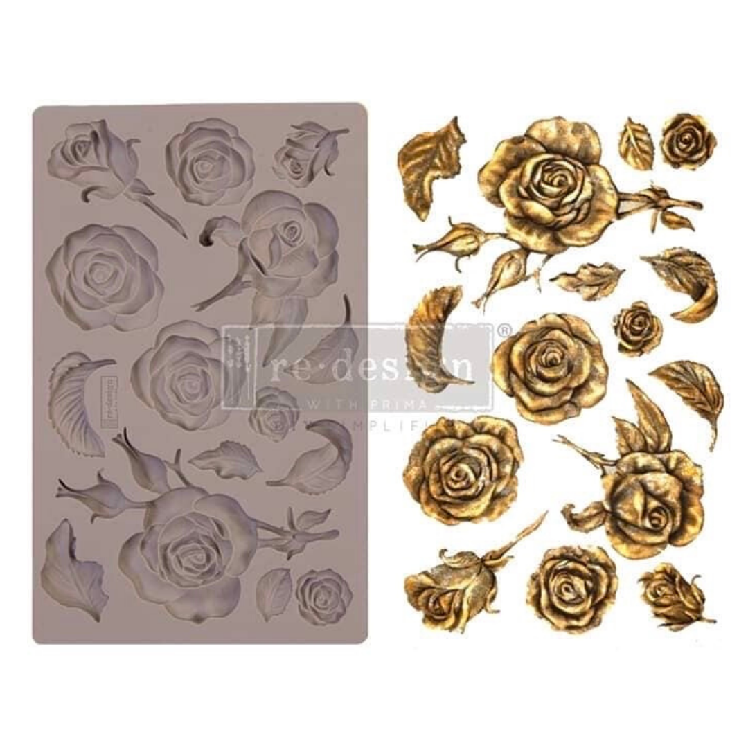 Silicone Mould - Fragrant Roses