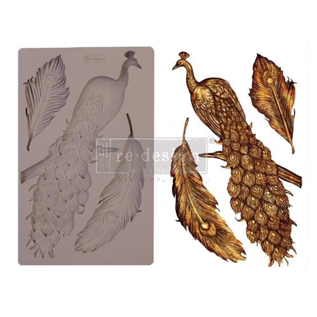 Decor Mould - Regal Peacock