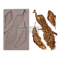 Decor Mould - Regal Peacock