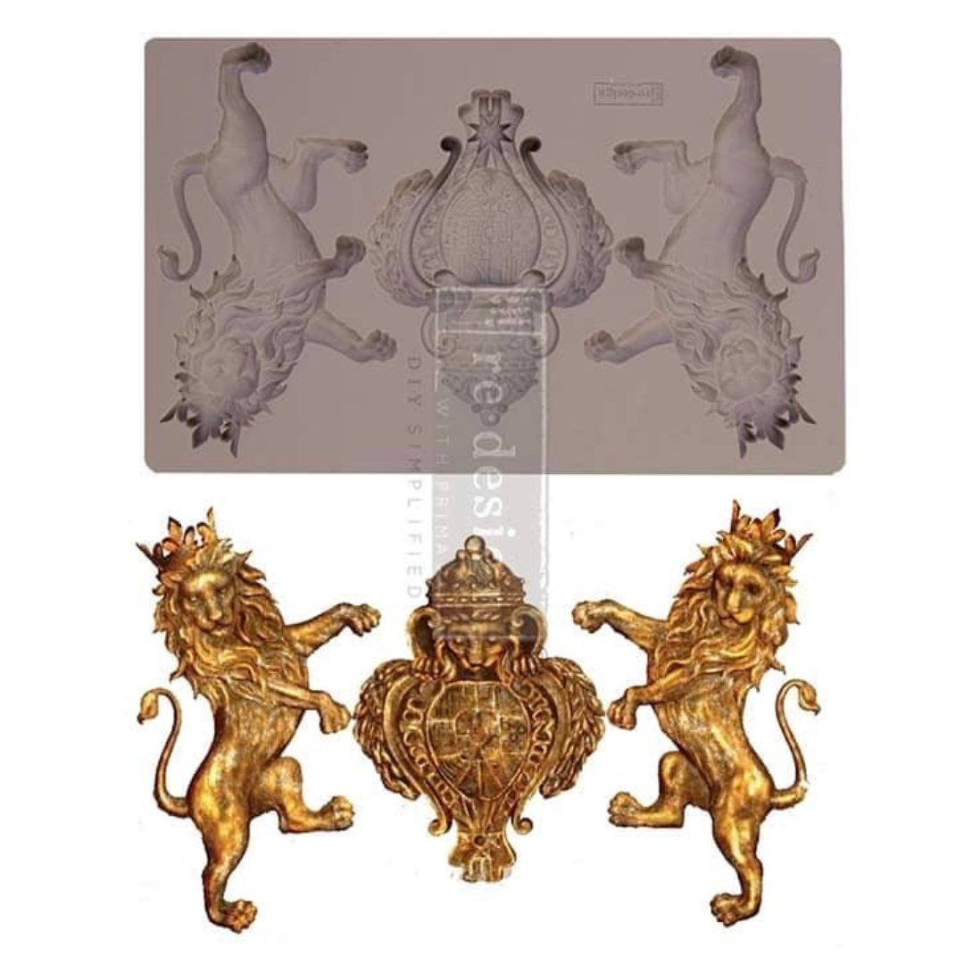 Decor Mould - Royal Emblem