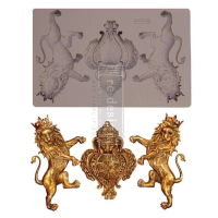 Silicone Mould - Royal Emblem