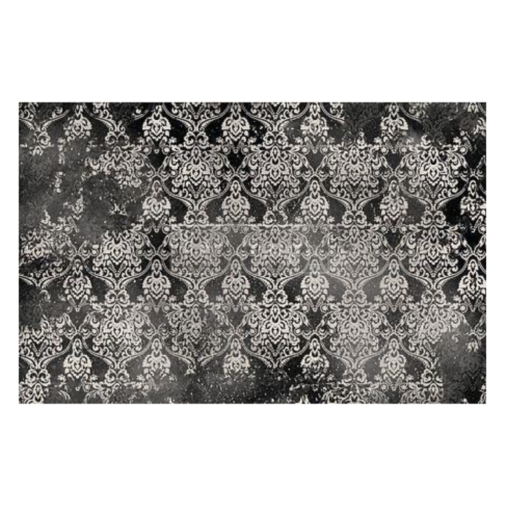 Decoupage Tissue Paper - Dark Damask