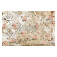 Decoupage Tissue Paper - Botanical Imprint