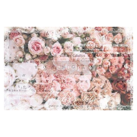 Decoupage Tissue Paper - Angelic Rose Garden