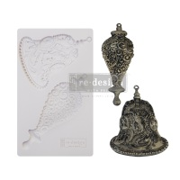 Decor Mould - Silver Bells