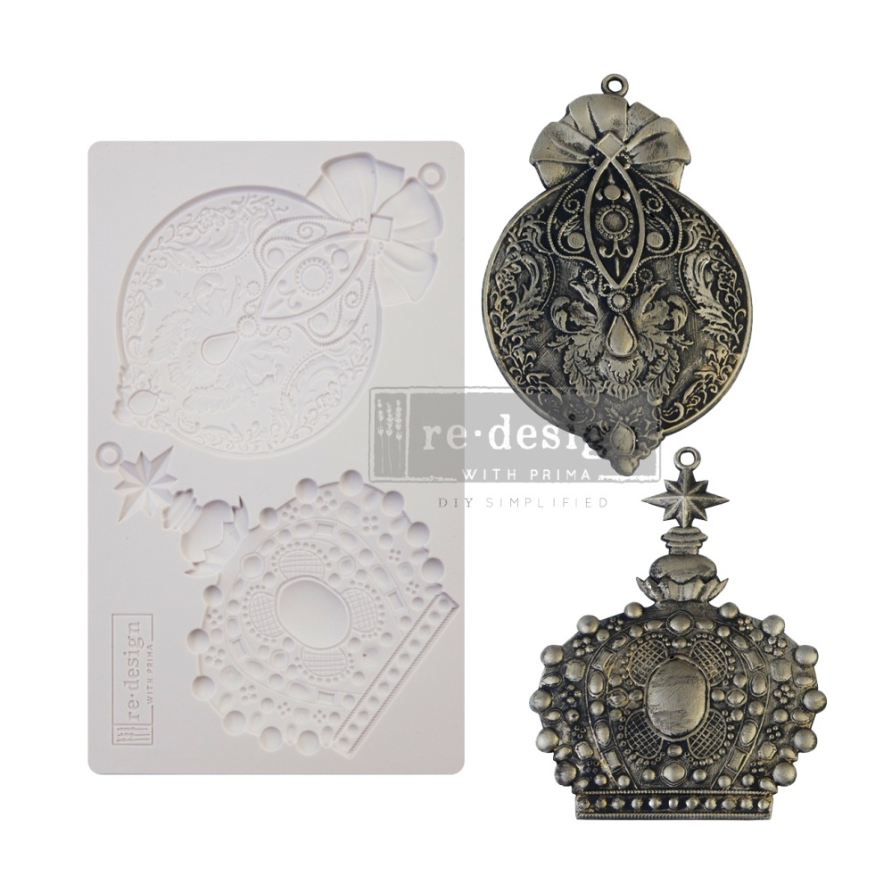 Silicone Mould - Victorian Adornments