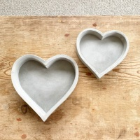 Heart Concrete Tray
