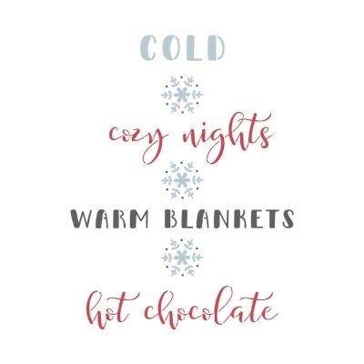 Stencil - Cozy Nights