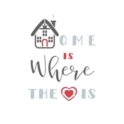 Stencil - Home is Where the Heart Is