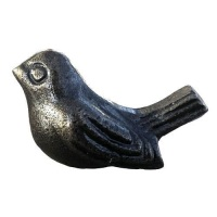 Knobs - Antique Iron Bird