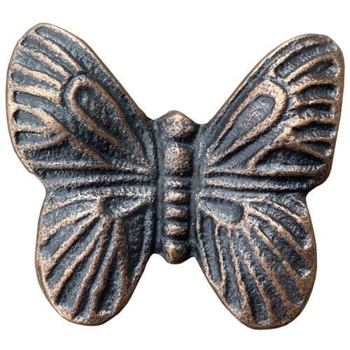Knobs - Antique Butterfly