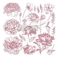 Decor Stamp - Linear Floral