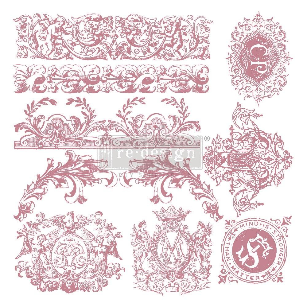 Décor Stamp - Chateau de Saverne