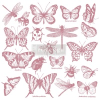 Decor Stamp - Monarch Collection