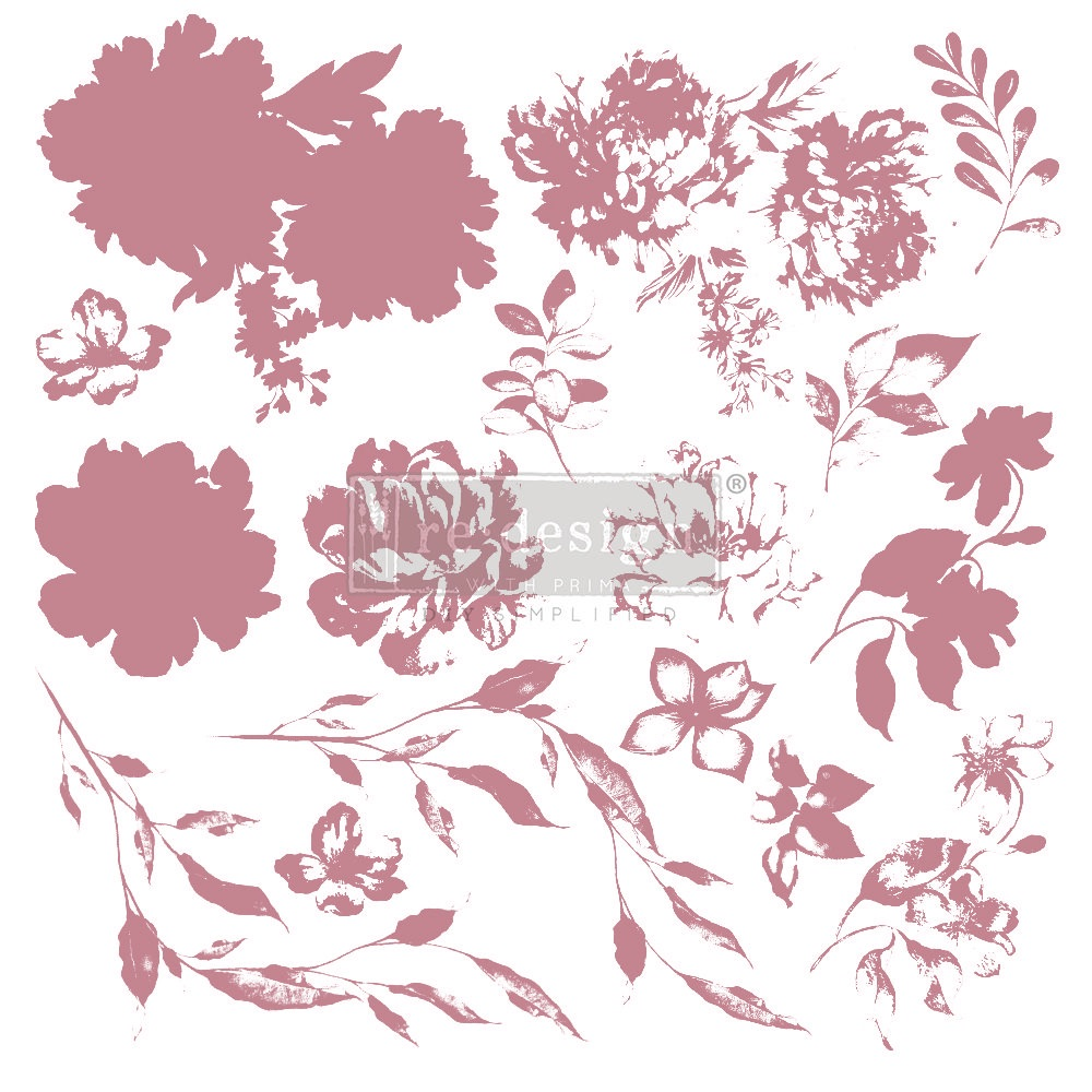 Decor Stamp - Sweet Blossoms
