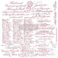 Decor Stamp - Handwritten Note