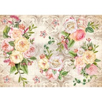 Rice Paper - Amiable Roses