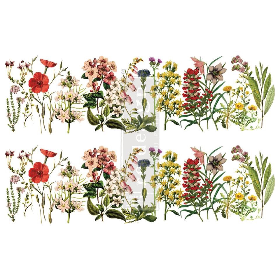 Decor Transfer - The Flower Fields