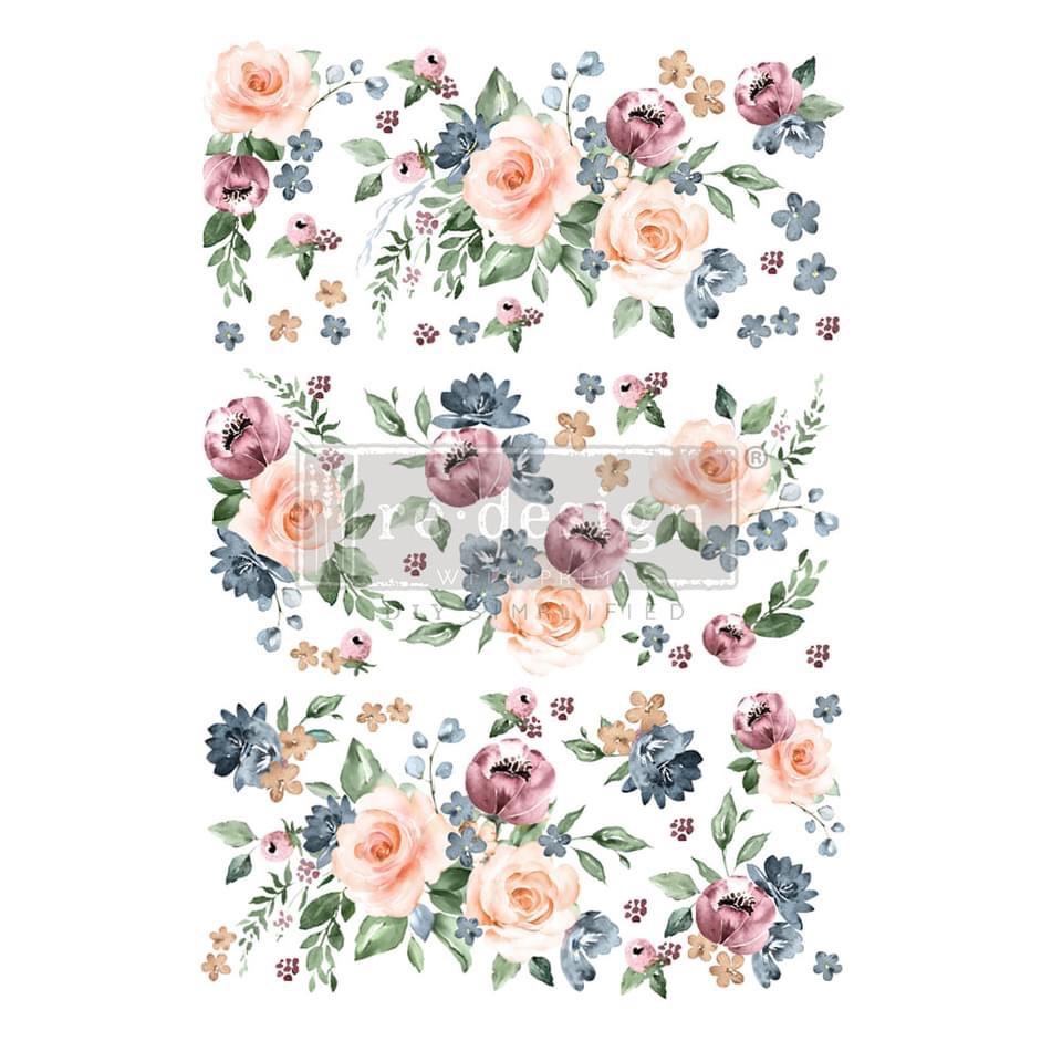 Decor Transfer - Watercolour Bloom