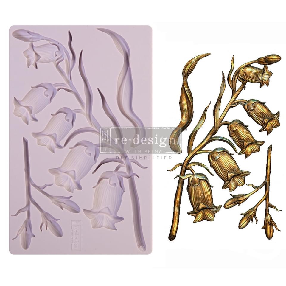 Decor Mould - Sweet Bellflower