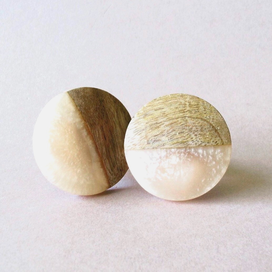 Knobs - Marble Two Tone