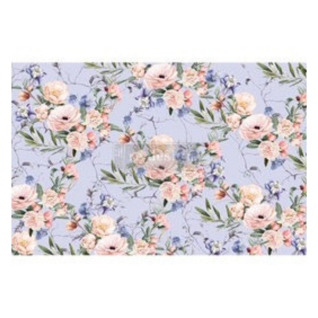 Decoupage Tissue Paper - Lavender Fleur