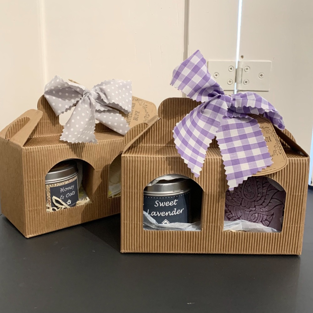 Eco Candle and Soap Hamper