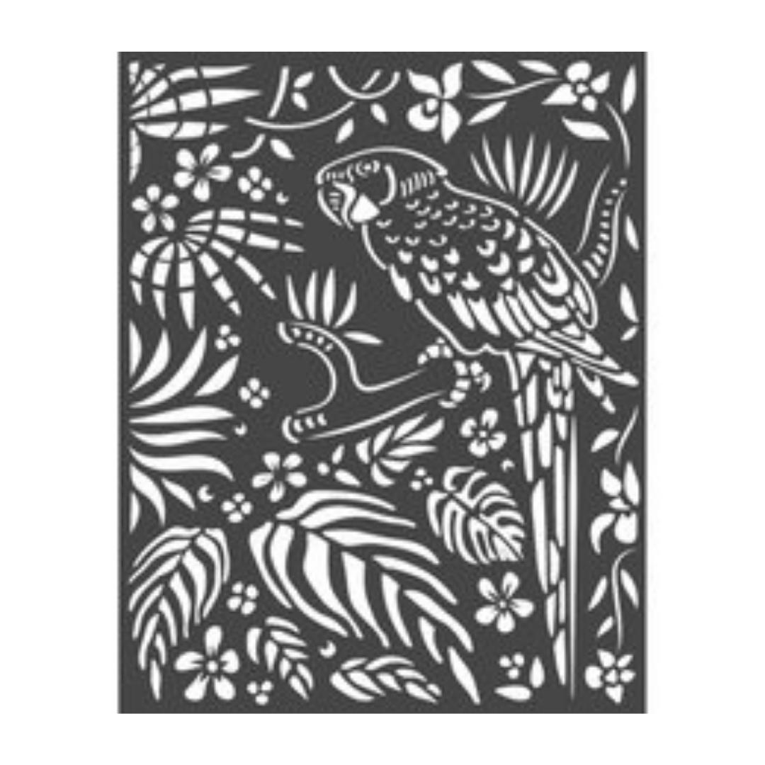 Stencil - Amazonia Parrot