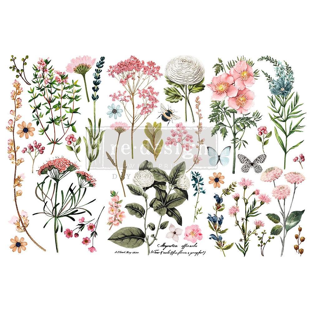 Decor Transfer - Botanical Paradise (Small)