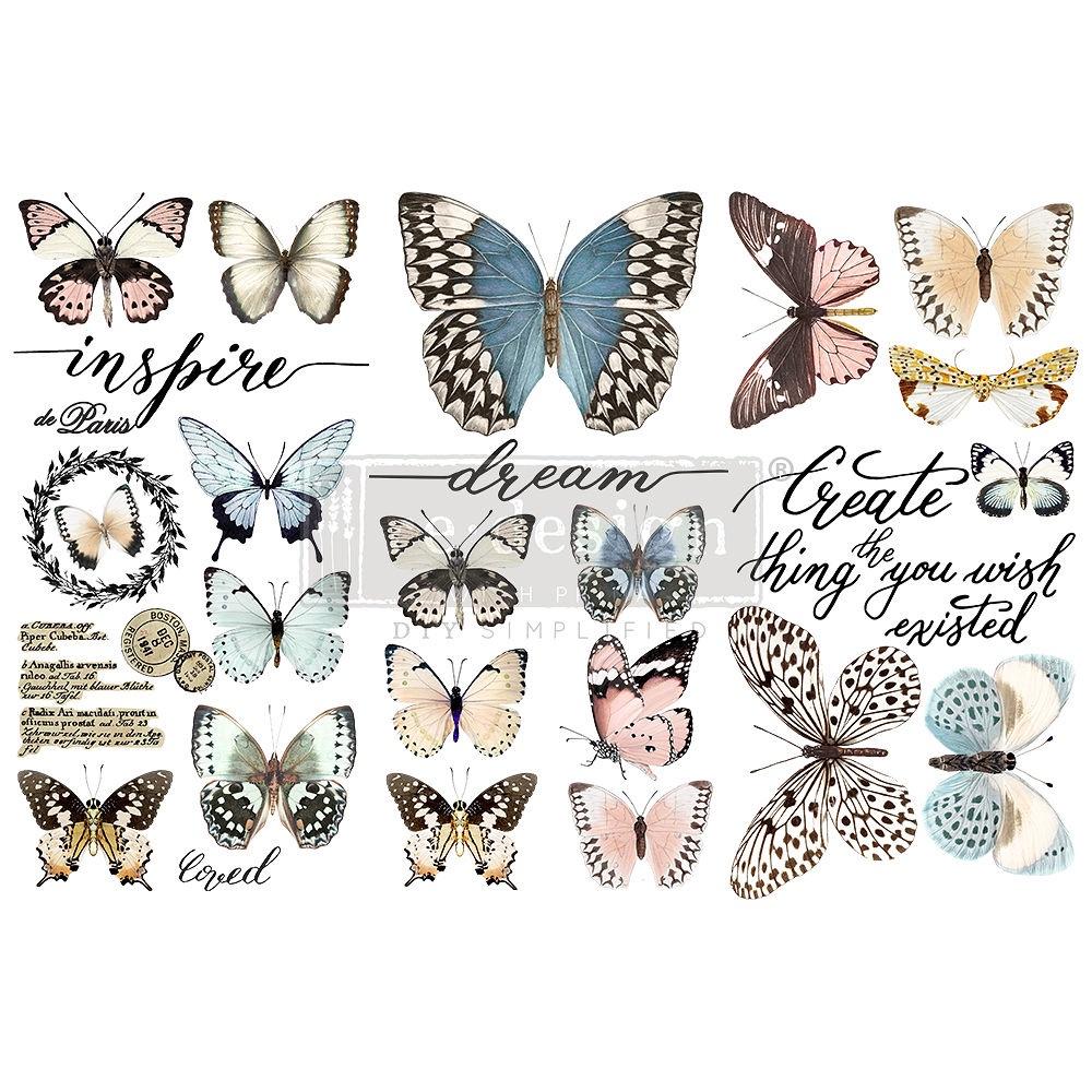 Decor Transfer - Papillon Collection (Small)