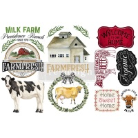 Decor Transfer - Home and Farm (Small)