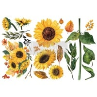 Decor Transfer - Sunflower Afternoon (Small)