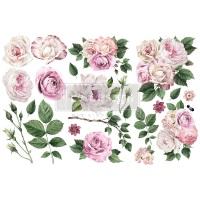 Decor Transfer - Delicate Roses (Small)