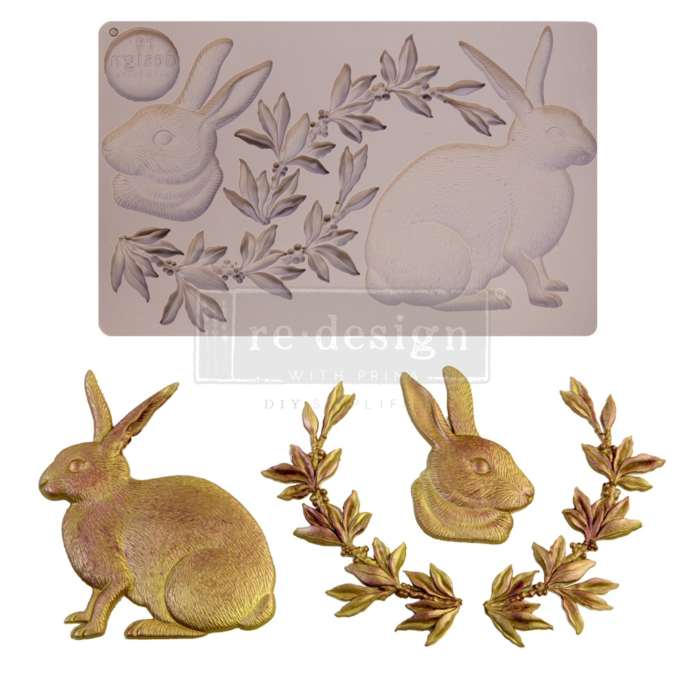 Decor Mould - Meadow Hare