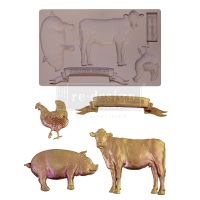 Decor Mould - Farm Animals