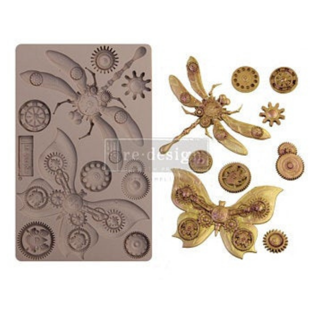 Decor Mould - Mechanical Insecta