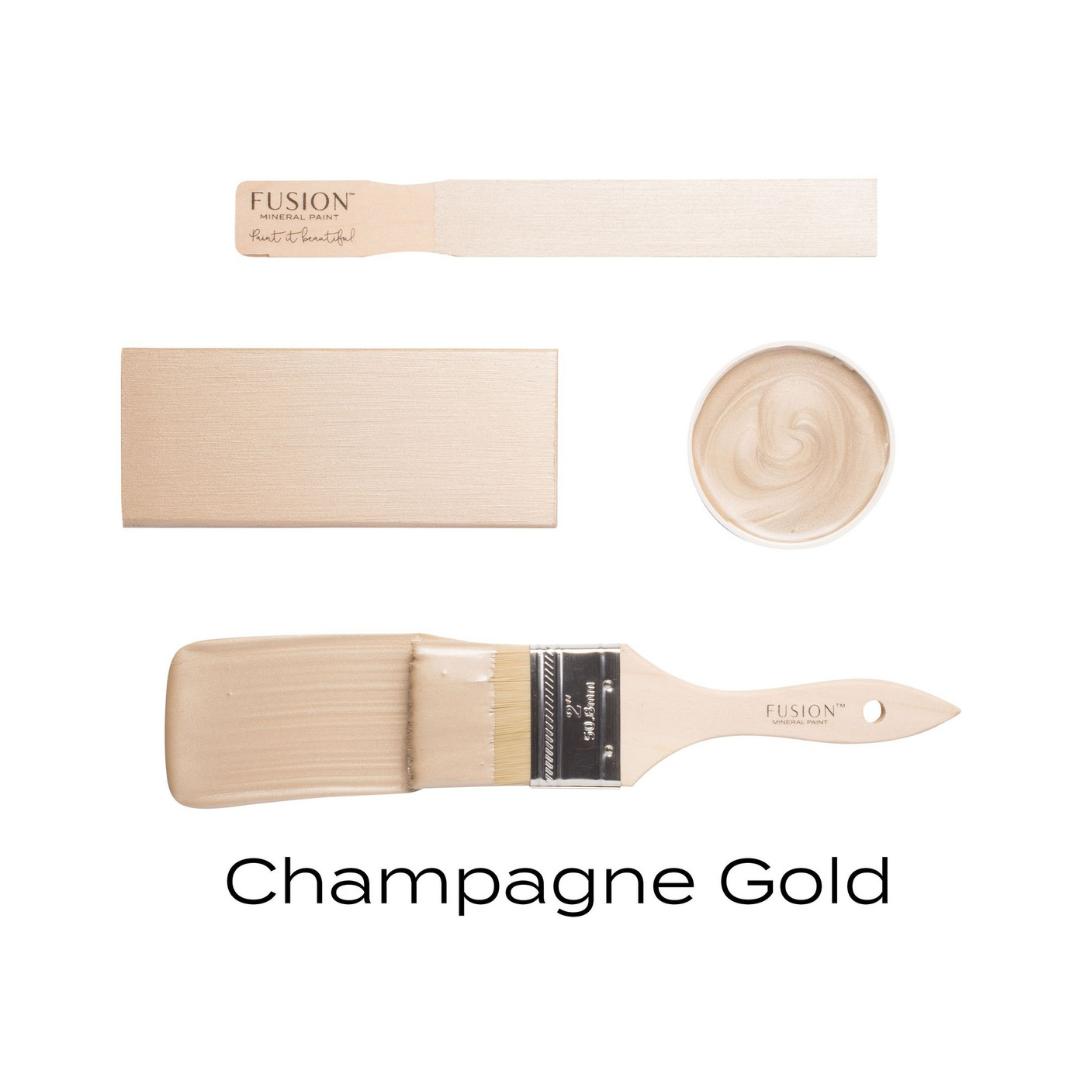 Metallic - Champagne Gold