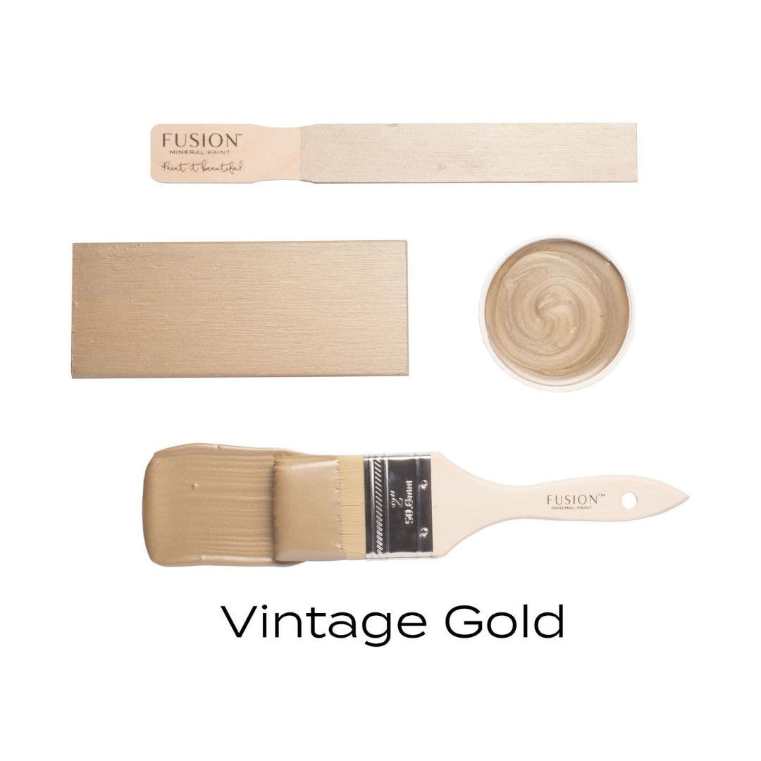 Metallic - Vintage Gold