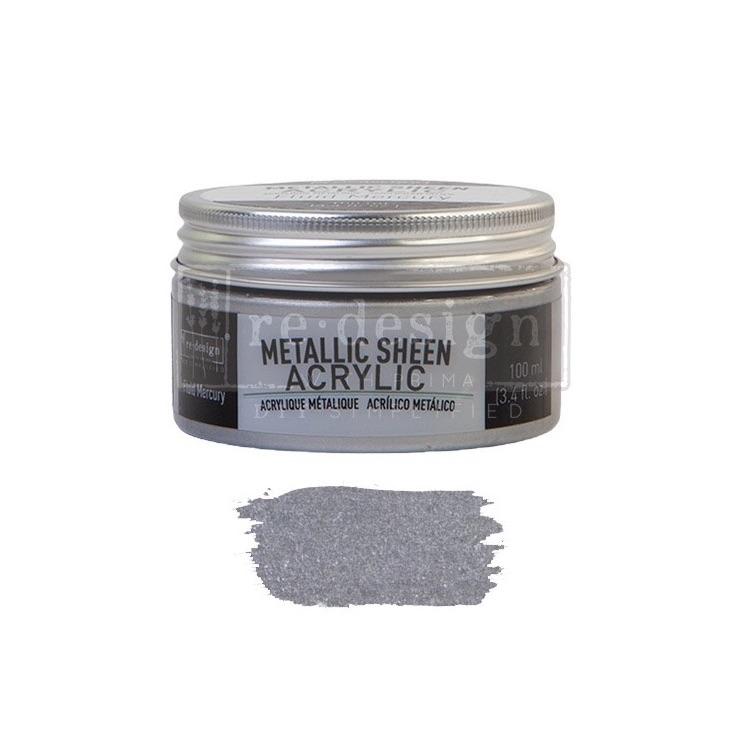 Metallic Sheen - Fluid Mercury