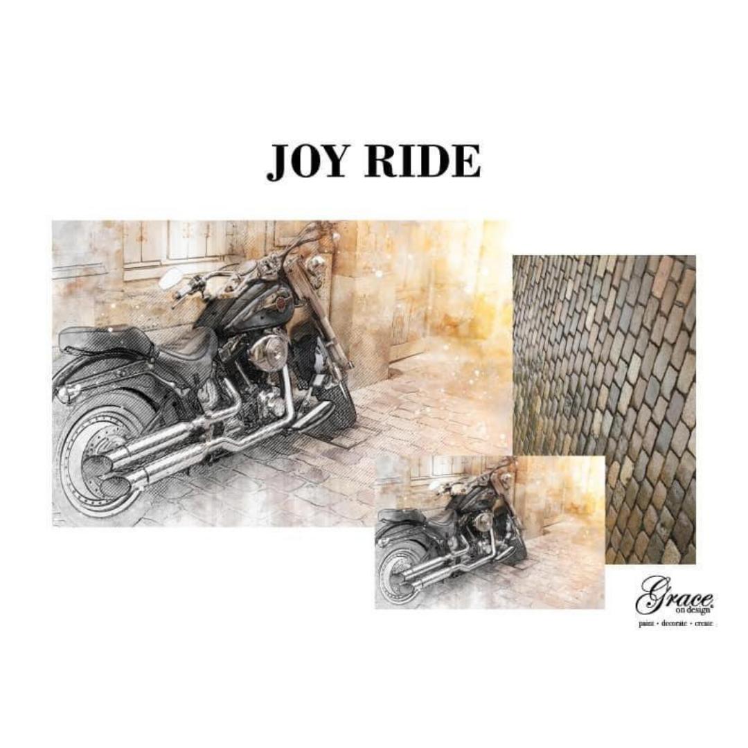 Decoupage Set - Joy Ride