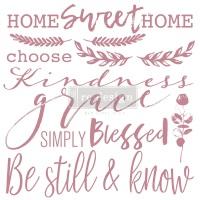 Decor Stamp - Inspired Words