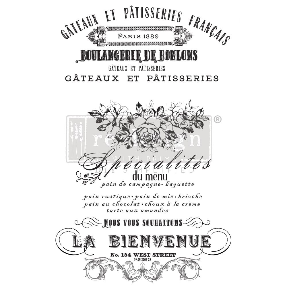 Decor Transfer - French Specialities