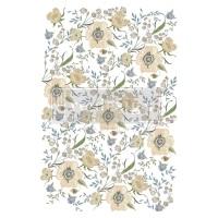 Decor Transfer - Goldenrod Florals