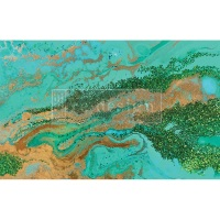 Decoupage Tissue Paper - Patina Copper
