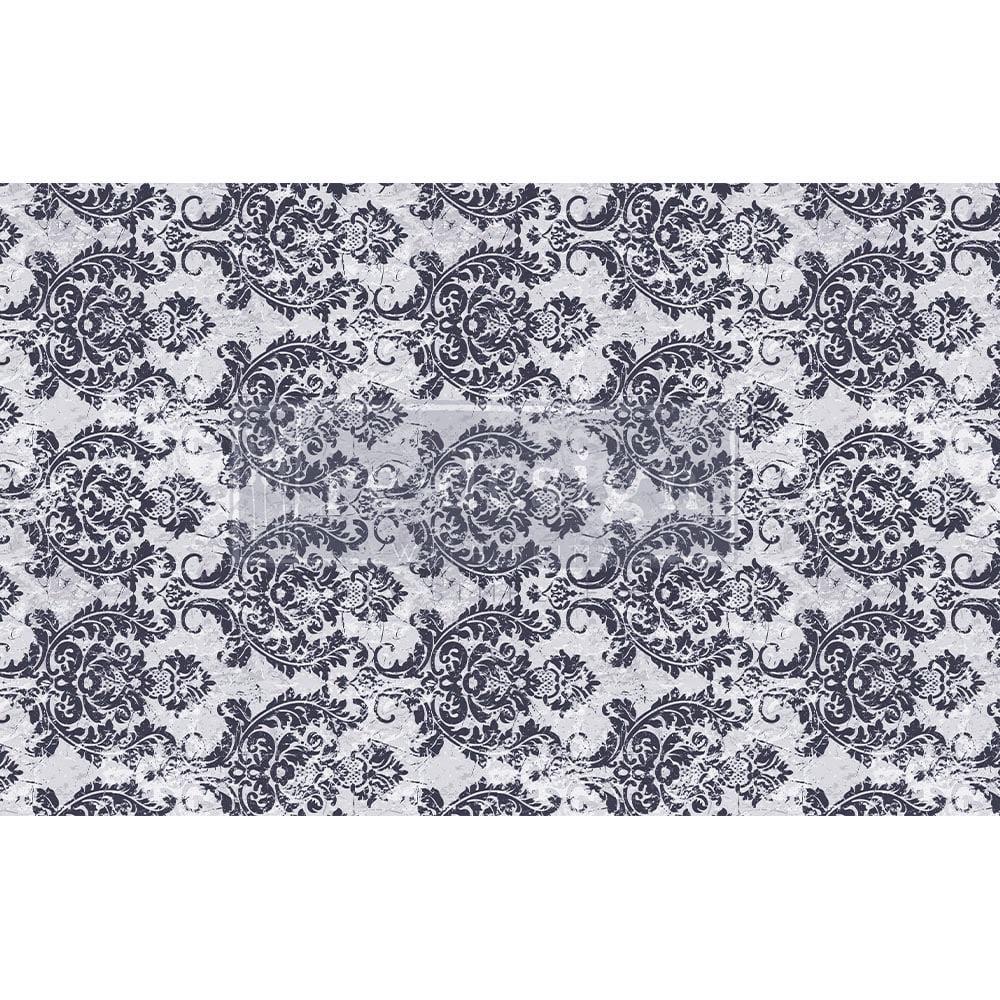 Decoupage Tissue Paper - Evening Damask