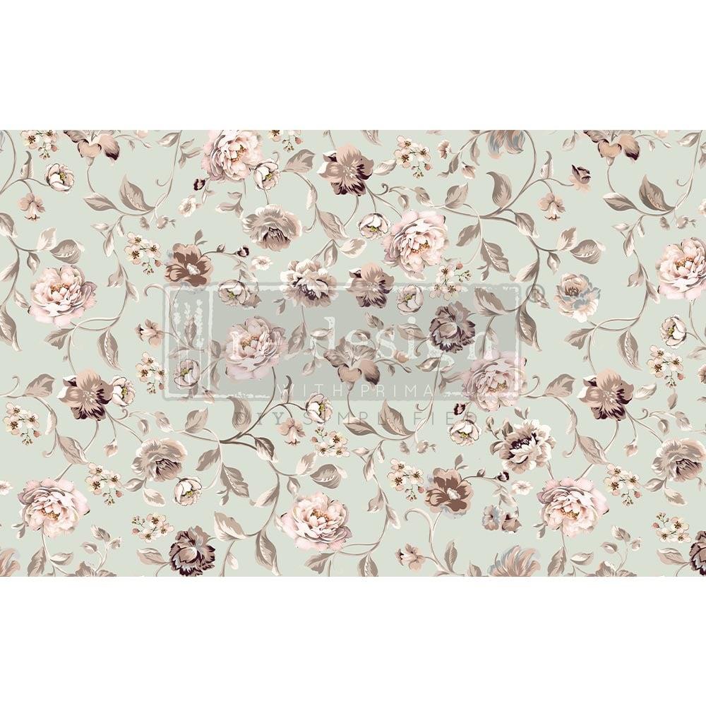 Decoupage Tissue Paper - Neutral Florals