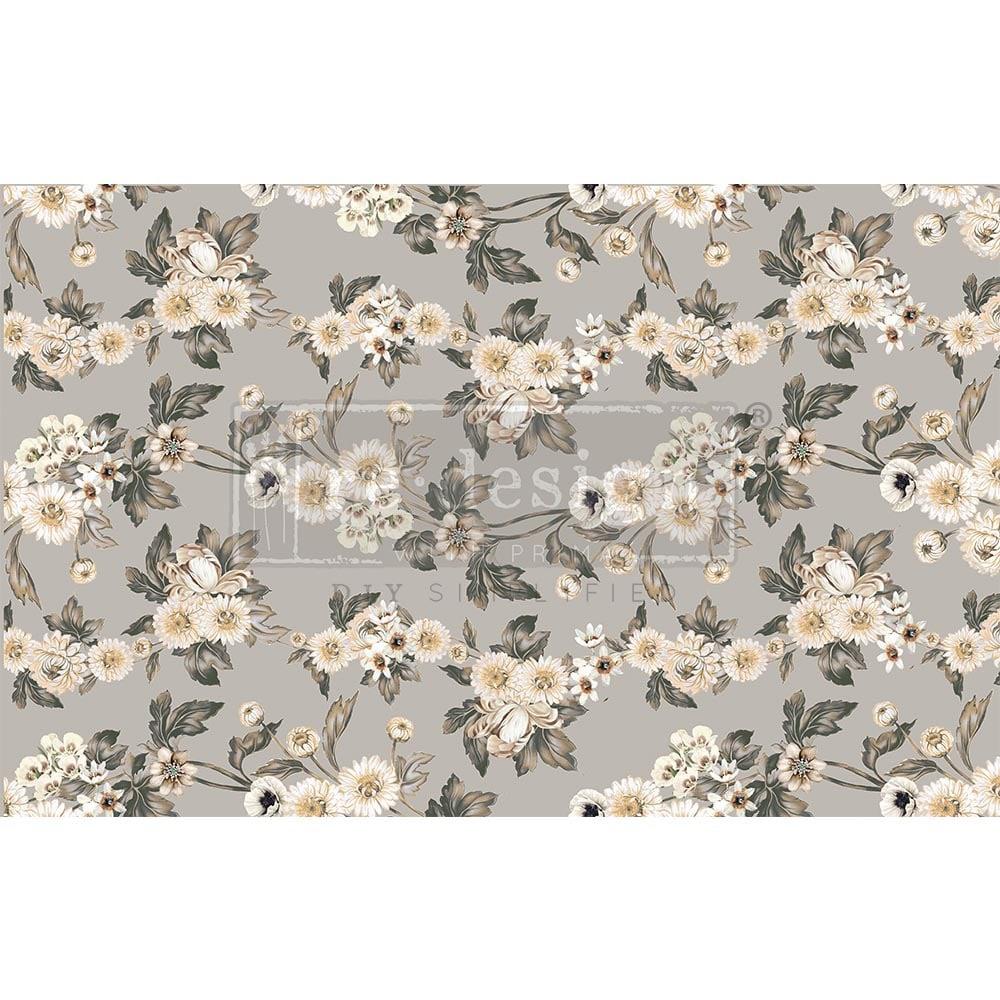 Decoupage Tissue Paper - Vintage Wallpaper